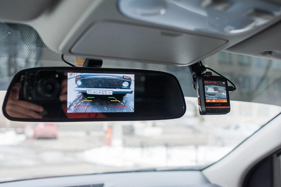 Установка камер заднего вида в авто